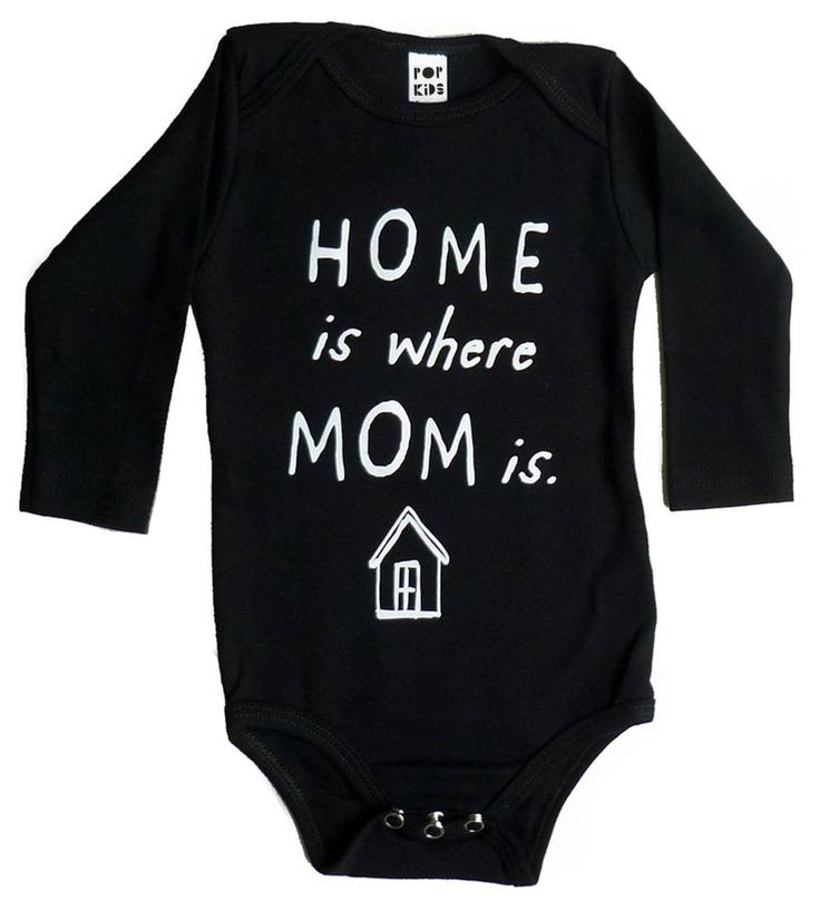 POP KIDS USA romper Home is were mom is