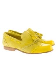 shoe the bear womans allen miller yellow