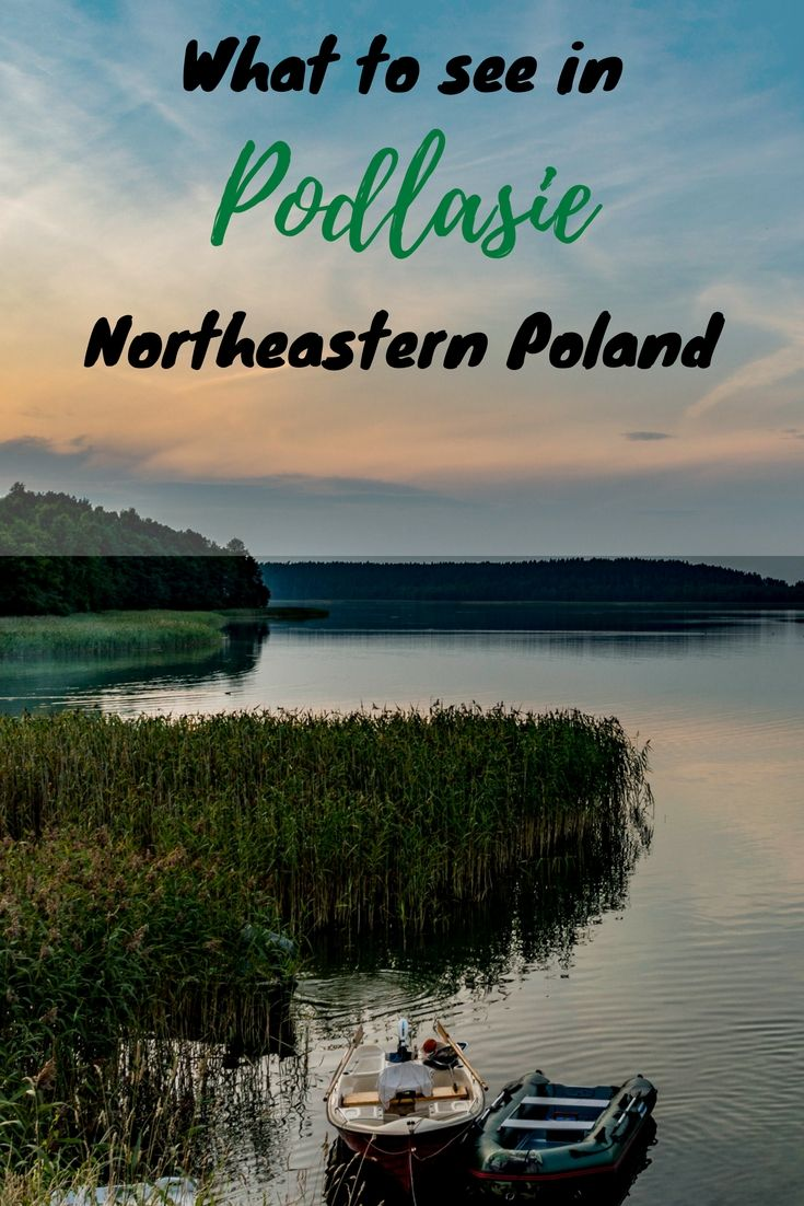 Podlasie is the most diversified region in Poland. It offers outstanding nature,  beautiful orthodox churches, mosques and cities.  Check out its best attractions! #poland #podlasie #easterneurope