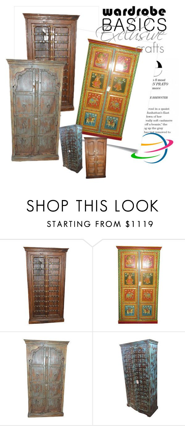Antique Moroccan Wardrobe Cabinet by baydeals on Polyvore featuring interior, interiors, interior design, home, home decor, interior decorating and rustic  http://stores.ebay.com/mogulgallery/Armoires-/_i.html?_fsub=1109606019&_sid=3781319&_trksid=p4634.c0.m322
