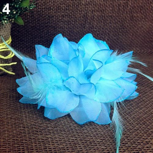 Cheap flower fascinator, Buy Quality pin hair directly from China hair headband Suppliers:    This flower fascinator elastic pin hair wrist corsage brooch is good accessory for dance show or prom.  Conditi