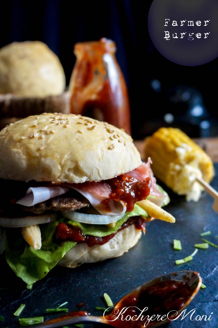 Rhöner Farmer Burger - Homemade Burgerbuns