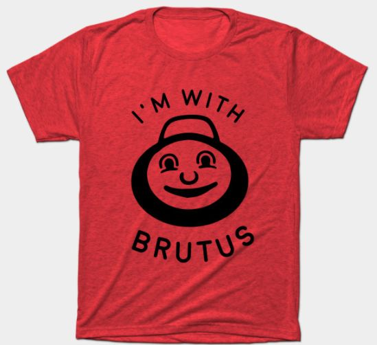 I'm with Brutus Buckeye Ohio State T Shirt