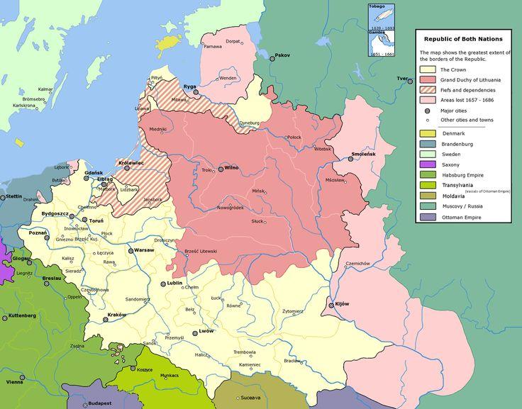 Rzeczpospolita - Русско-польская война (1654—1667) — Википедия