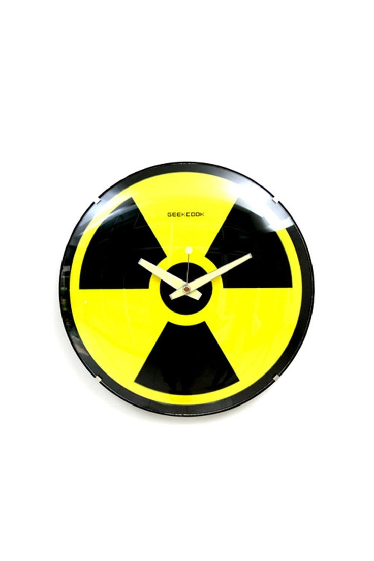 Geekcook Nuclear Wall Clock Funny Wall Clock Online