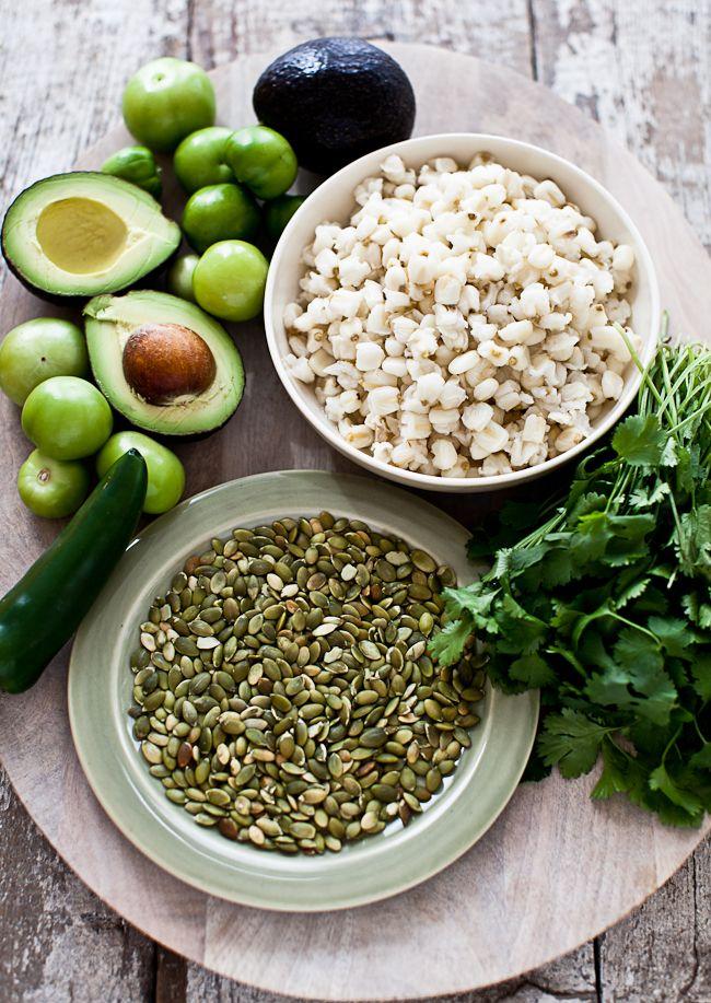 Yummy Supper: IRRESISTIBLE GREEN POZOLE