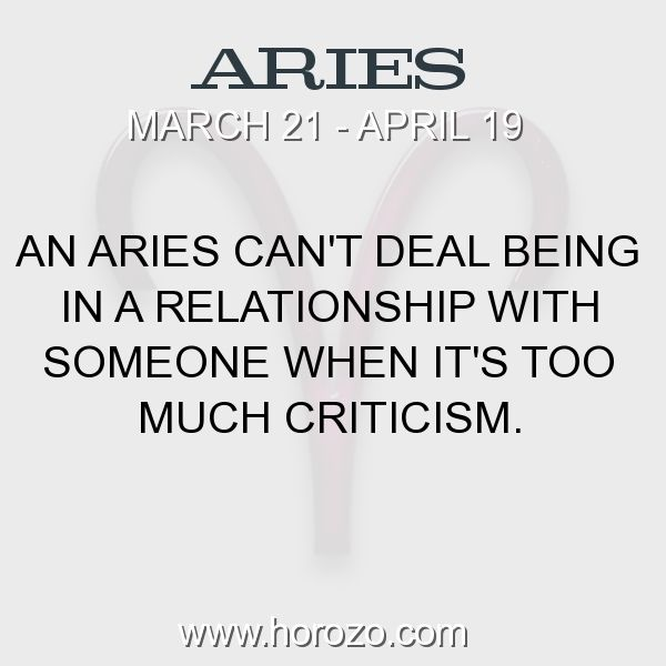 Fact about Aries: An Aries can't deal being in a relationship with someone... #aries, #ariesfact, #zodiac. More info here:  Astrology dating site: https://www.horozo.com