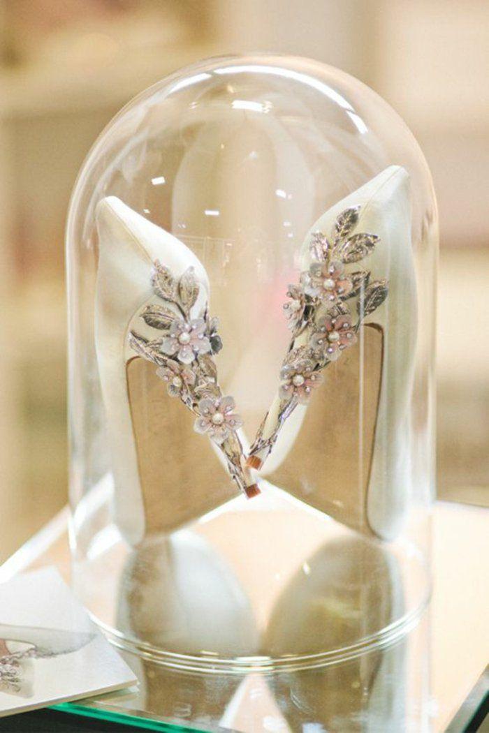 Mariage les chaussures de mariée princesse Belle et la bête Disney