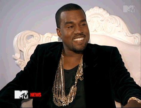 13 Amazing Kanye West GIFs: Yeezus Walks ... and Unfortunately Talks!