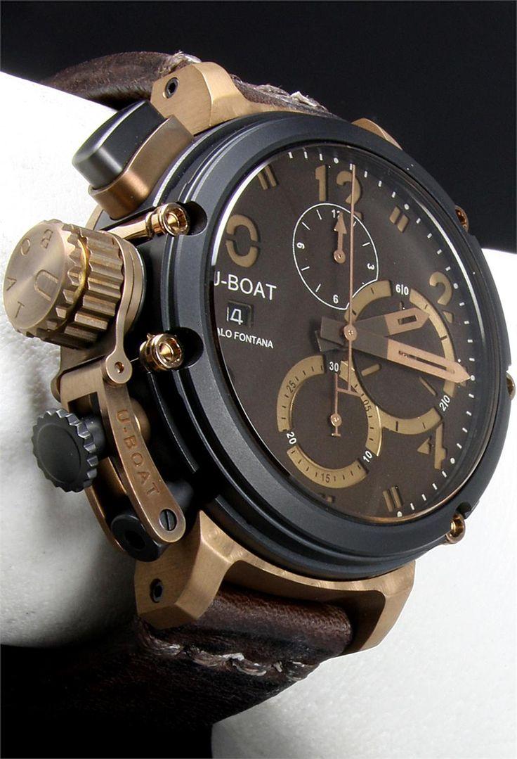 UBOAT Chimera B&B...bronze and titanium metal harmony