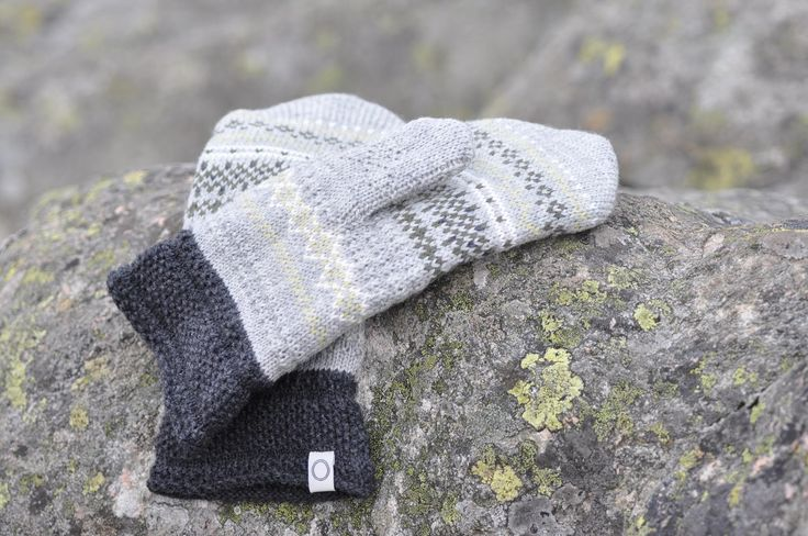 Glesver Mittens - wonderful mittens in 100% wool with a fleece lining. Knitted in the same wonderful pattern and colours as the rest of the Glesver design. Machine washable. Made in Norway   #Norway #Bergen #wool #ull #norskdesign #norwegiandesign #knitted #knit #madeinnorway #SusanFosse #strikk #strikke #mittens #knittedmittens #votter #strikkevotter #Glesver