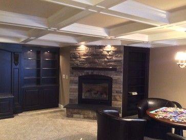 Island Lakes Novi   Traditional   Basement   Detroit   Majestic Home  Solutions LLC And The. Basement ApartmentFinished BasementsNovi ...