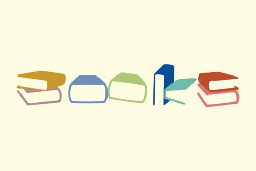 Book Font — Reading material made out of the shapes of reading material...