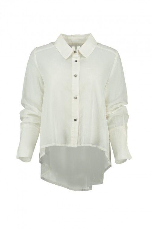 Index Shirt - Alabaster