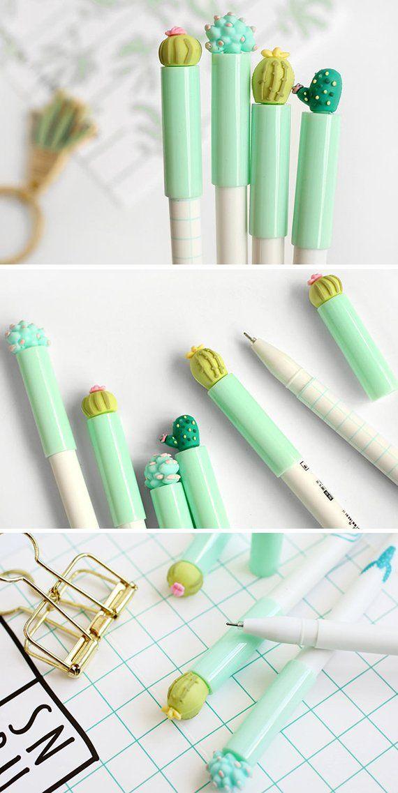 Cactus pens | Super cute pens