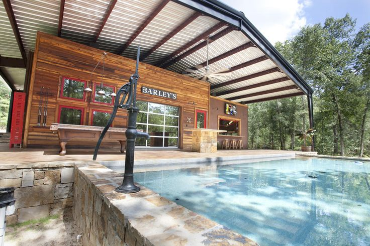 Metal building houses texas innovative metal canopy home for Steel home designs