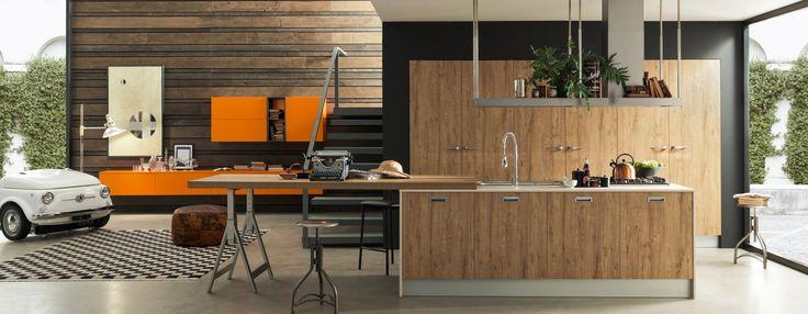 Vendita cucine Febal: acquista arredo cucine Innovazione Ice Industrial Edition | Febal Casa