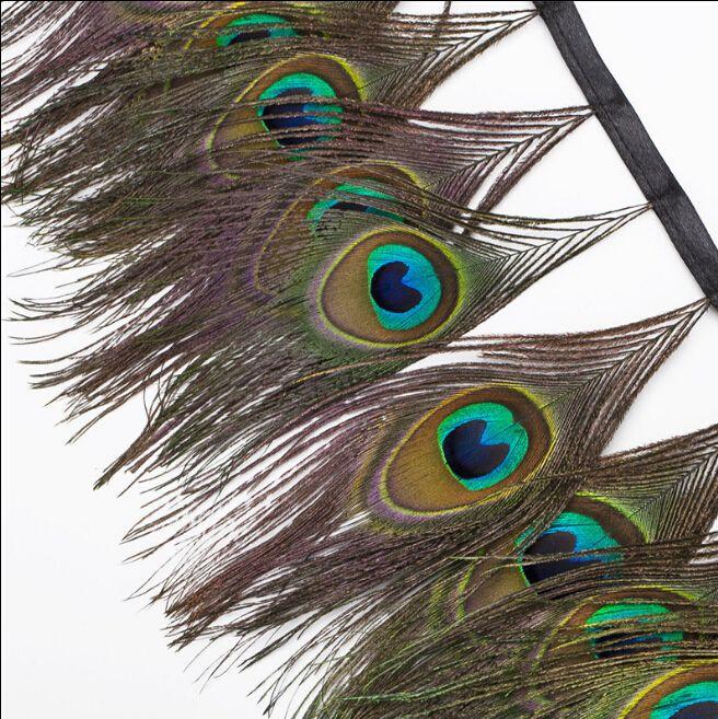 Goedkope 1 yard mooie pauw staart veren natuurlijke ogen lint 5 7inches/13 18cm, koop Kwaliteit veer rechtstreeks van Leveranciers van China: 1 yard mooie pauw staart veren natuurlijke ogen lint 5-7inches/13-18cm