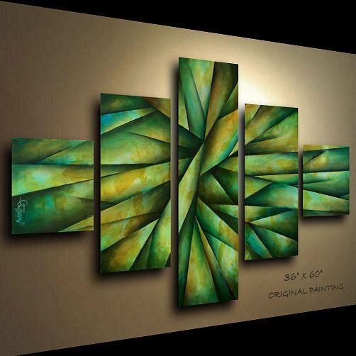 Painting Abstract MODERN Art Contemporary DECOR Michael Lang certified original