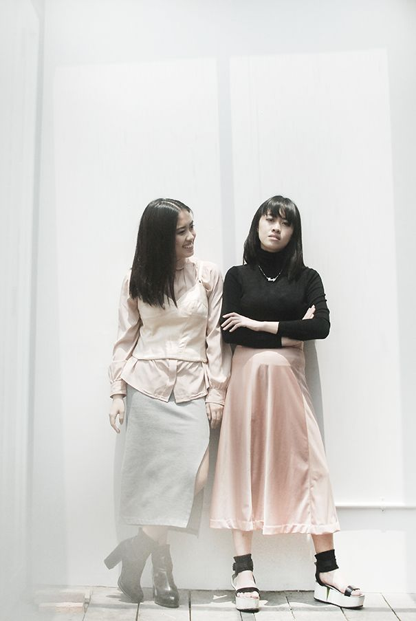 a couple of lovely sisters that has been known by their profession as duo fashion photographers, Sally & Emily. Read More : http://www.localbrand.co.id/post/but-first-coffee-with-sally-emily
