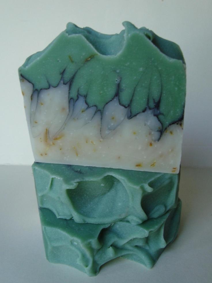Eucalyptus Spearmint Cold Process Soap  #Unique Tops