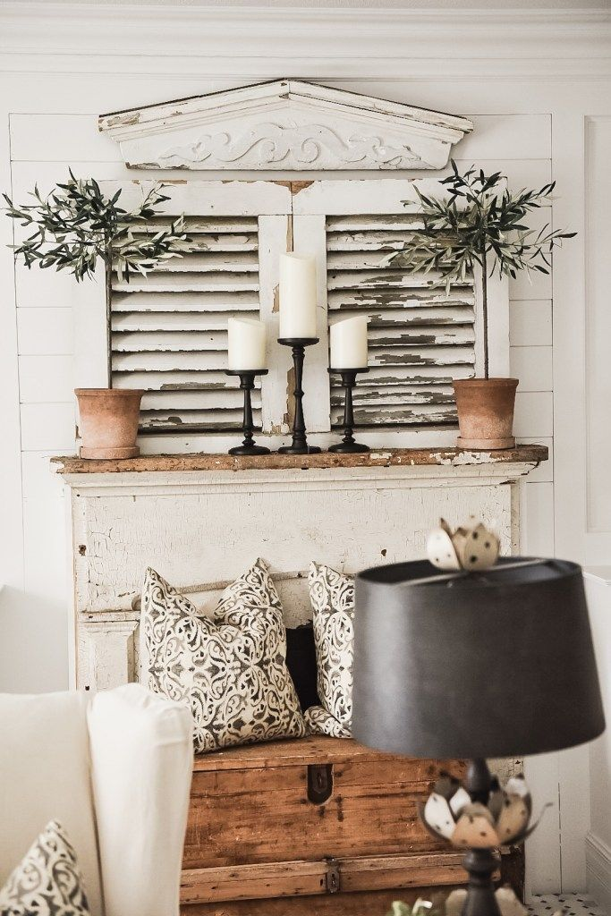 Four Simple Ways To Style A Mantel