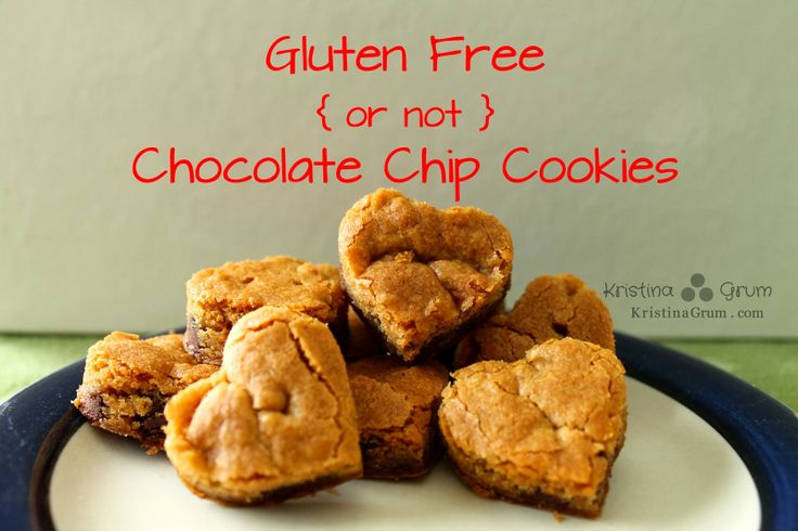 Gluten Free { or not } Chocolate Chip Cookies