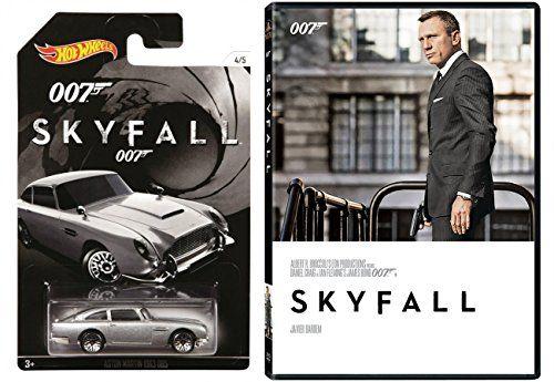 Skyfall DVD & Hot Wheels Exclusive Aston Martin Pack James Bond 007 Daniel Craig Set @ niftywarehouse.com #NiftyWarehouse #Bond #JamesBond #Movies #Books #Spy #SecretAgent #007