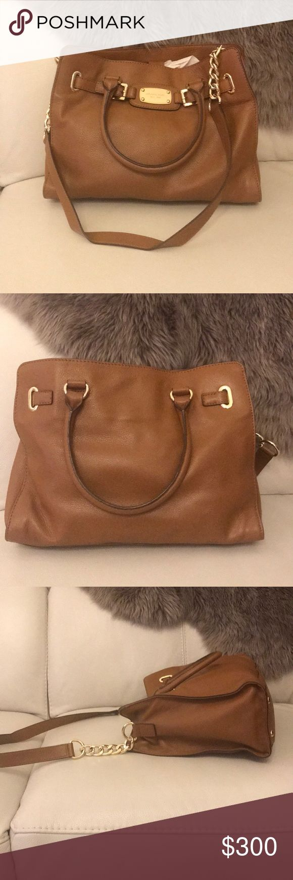 Michael Kors authentic soft leather bag Brown shoulder strap. Like new, barely used. No rips, stains, tears. Michael Kors Bags Shoulder Bags