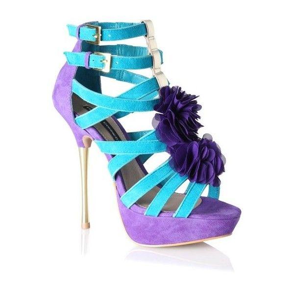 Joni Platform Stilettos Woman ($65) ❤ liked on Polyvore featuring shoes, pumps, high heel stilettos, ankle strap platform pumps, suede pumps, french connection shoes and french connection pumps