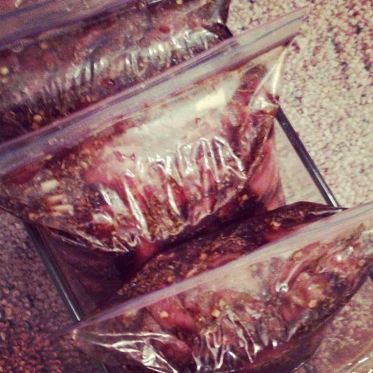 Hickory Smoked Beef Jerky Marinade