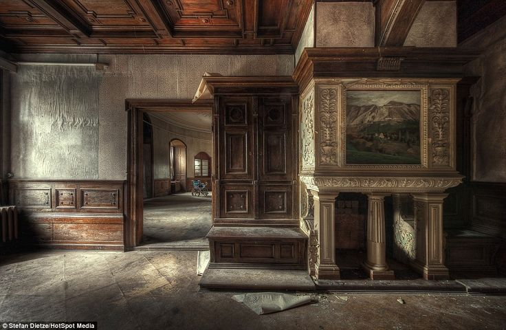 This once majestic building in Saxony Anhalt, Germany, started life as a castle. It was then transformed into a manor house, before finally being converted into a retirement home after the Second World War. By Stefan Dietze.