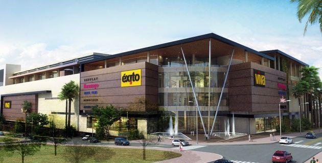 Esta es la propuesta de construcción del Grupo Éxito para el centro comercial 'Viva Barranquilla'.