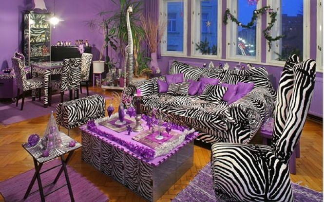 19 Simple Zebra Print Room Ideas Concept Photographs