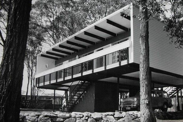 An original Beachcomber house in Carlingford, designed by Nino Sydney in 1961.