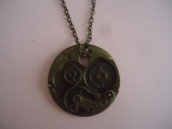 Watch Workings Necklace by TallulahStack on Etsy, $10.00