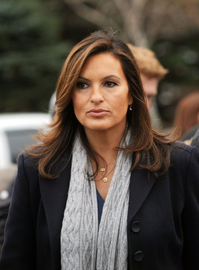 "Mariska Hargitay of Law & Order: Special Victims Unit  ""Olivia Benson"" Great detective!!"