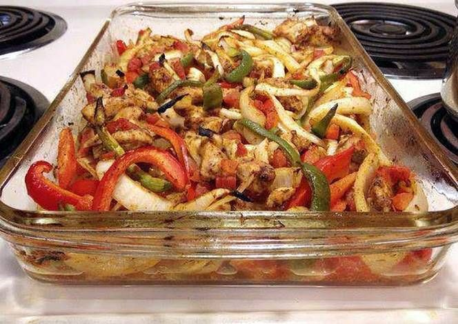 Baked Chicken Fajitas - Heart Healthy Recipe - How are you today? How about making Baked Chicken Fajitas - Heart Healthy?