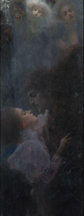Allegory of Love, Gustav Klimt  https://www.artexperiencenyc.com/social_login/?utm_source=pinterest_medium=pins_content=pinterest_pins_campaign=pinterest_initial