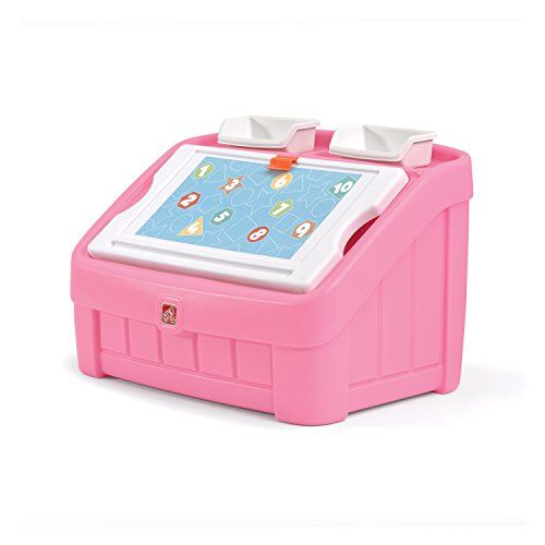 Step2 2-in-1 Toy Box and Art Lid Pink