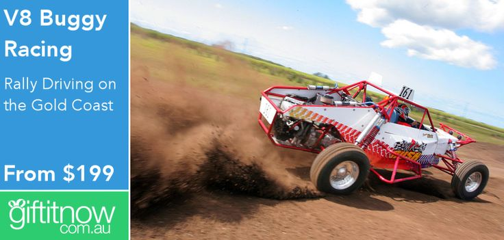 4L V8 engines make these off-road buggies one hell-of-a fun drive! Check them out at Gift It Now!