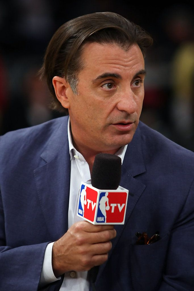 Andy Garcia - Celebrities At NBA Finals Game 4: LA Lakers Vs. Boston Celtics