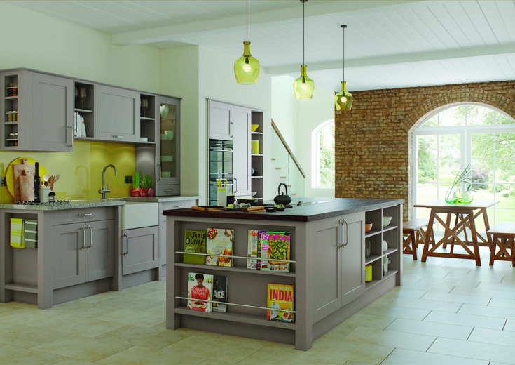 Thatcham Kitchens- Mereway Kitchens- Town & Country-  Charnwood- Pumice