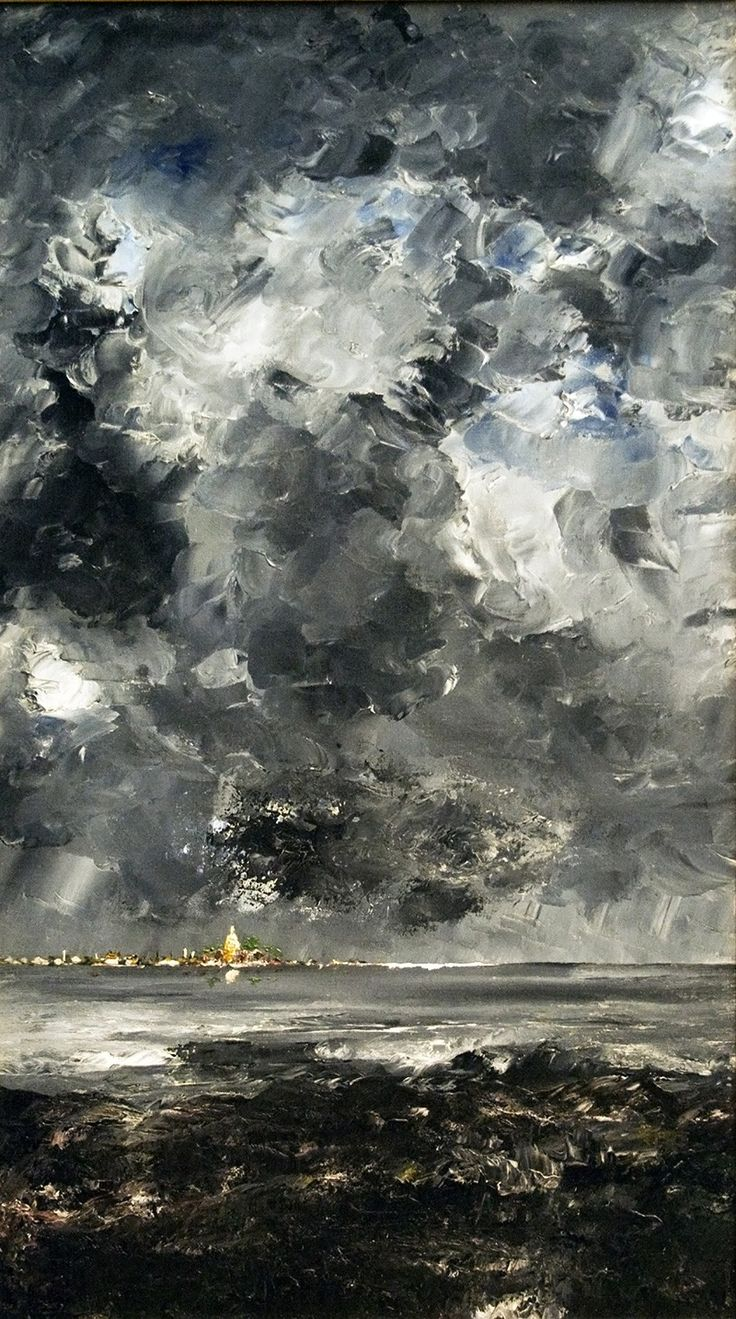 The Town (1903) August Strindberg Purchase Print of this Artwork