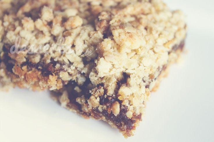 Carrés aux dattes | Desserts & Cie