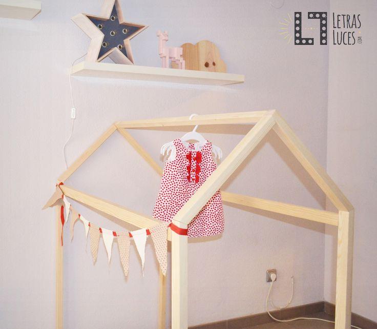 M s de 1000 ideas sobre cama montessori en pinterest - Cama casita infantil ...