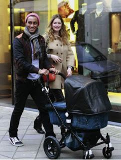 Bugaboo Cameleon custom made  Special Edition for #Doutzen Kroes and Sunnery James
