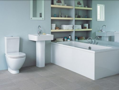 ideal standard white bathroom suite is designed by the architect david chipperfield for - Bathroom Designs Ireland