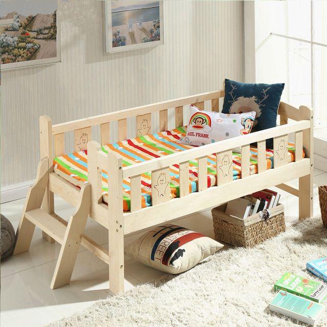 kids wooden beds solid wood children bed multifunctional | Kid