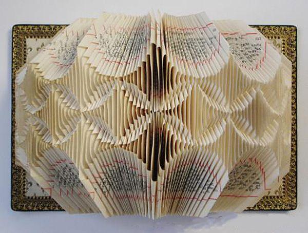 Interesting ideas for decor: Декор из книг. The decor of the books.